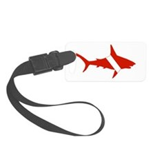 Shark Diver Luggage Tag
