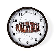 Volleyball Wall Clock