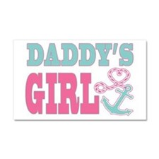 Daddys Girl Boat Anchor and Heart Car Magnet 20 x