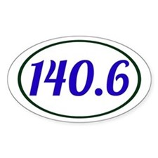 Ironman Triathlon 140.6 Decal