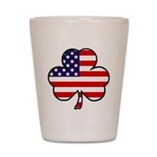 'USA Shamrock' Shot Glass