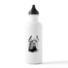Cane Corso Dog Water Bottle