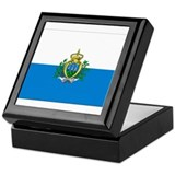 Flag of San Marino Keepsake Box
