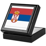 Flag of Serbia Keepsake Box
