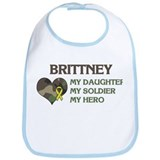 Brittney: My Hero Bib