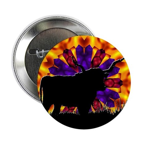 "Texas Longhorn 2.25"" Button (100 pack)"