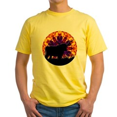 Texas Longhorn Yellow T-Shirt