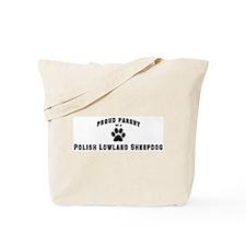 Polish Lowland Sheepdog: Prou Tote Bag