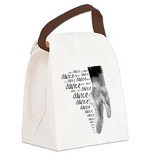 dance dance dance.png Canvas Lunch Bag