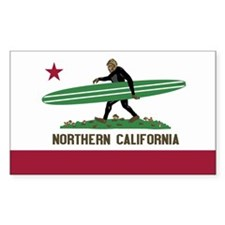 Northern California Bigfoot Decal