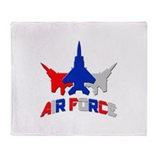 Air Force Throw Blanket