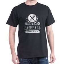 Baseball Is My Life Vintage T-Shirt
