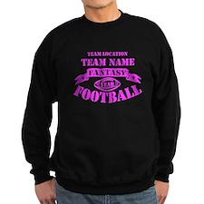 Personalized Fantasy Hot Pink Sweatshirt