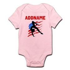 USA #1 GYMNAST Infant Bodysuit