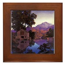 The Millpond Framed Tile