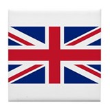 Flag of the UK Tile Coaster
