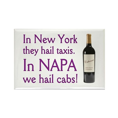 Napa Cabernet ! Rectangle Magnet (10 pack)