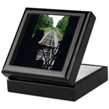 Railroad Man Keepsake Box