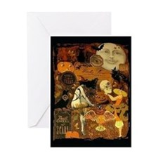 Witch's Stew Greeting Card