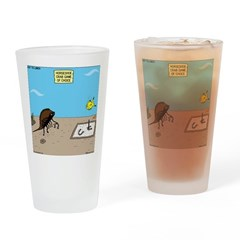Horseshoe Crab Game Drinking Glass
