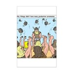 Viking Graduation Mini Poster Print