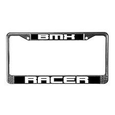 BMX Racer License Plate Frame