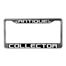Antique Collector License Plate Frame
