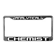 Analytical Chemist License Plate Frame