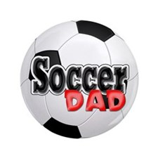 "Soccer Dad 3.5"" Button"