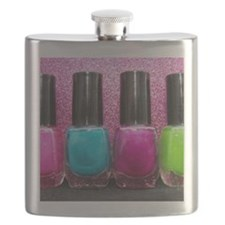 Bright Nail Polish Flask