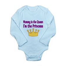 Mommy is the Queen Body Suit