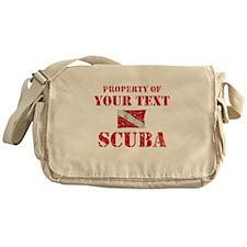 Personalized Scuba Messenger Bag