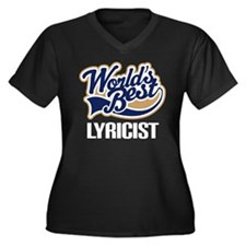 Lyricist (Worlds Best) Women's Plus Size V-Neck Da