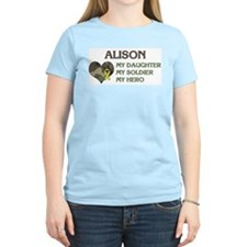 Alison: My Hero Women's Pink T-Shirt