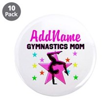 "GREAT GYMNAST MOM 3.5"" Button (10 pack)"