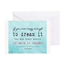 Crazy Dreamer Greeting Cards (Pk of 10)