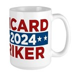 Star Trek Picard Riker 2016 Mugs - This funny election design is for fans of Star Trek The Next Generation. Vote Picard/Riker in 2016!