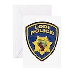 Lodi Police Greeting Cards (Pk of 10)