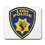 Lodi Police Mousepad