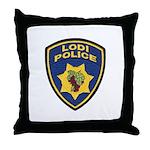 Lodi Police Throw Pillow