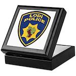Lodi Police Keepsake Box