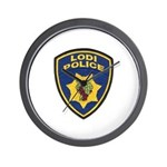 Lodi Police Wall Clock