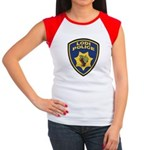 Lodi Police Women's Cap Sleeve T-Shirt