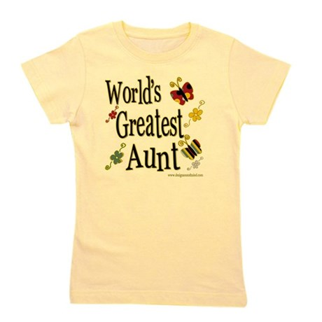 Butterflyworldsgreatestaunt copy.png Girl's Tee