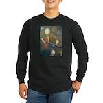 The Bass Player Long Sleeve Dark T-Shirt