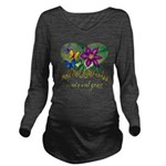 Butterflymotherinlaw.png Long Sleeve Maternity T-S