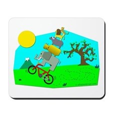 Big 5 Wheelie! Mousepad