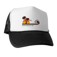 Long Beach California Trucker Hat
