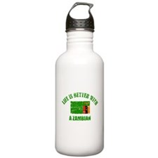 Life is better with a Zambian Water Bottle