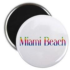 "Miami Beach 2.25"" Magnet (10 pack)"